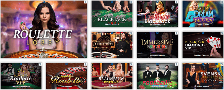 Die Sloty Casino Live Games