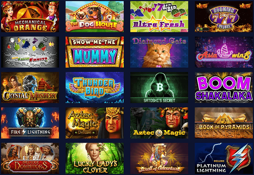 Betchain Slot Games