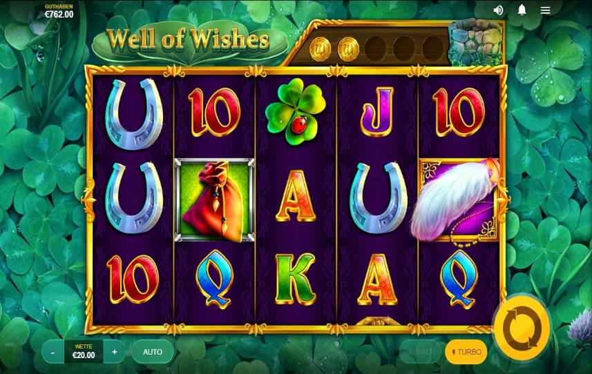 Das Well of Wishes Slotspiel